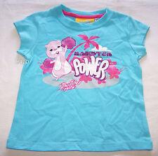 Zhu Zhu Pets Hamster Girls Blue Printed T Shirt Size 3 New ZhuZhu