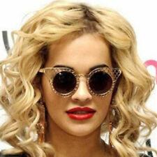 Vintage Oval Round Metal Sunglasses Men Women Sun Glasses Myopia Rx able