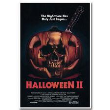 Halloween 2 Movie Poster 12X18 24X36 inch Silk Fabric Print