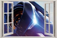 Jackson Storm Cars 3 Disney 3D Window Decal Wall Sticker Mcqueen Home Art J204