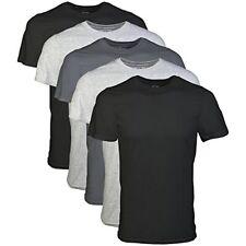 Pack pf 5 Gildan Men's Assorted T-Shirts 100% Cotton Undershirt Clothing