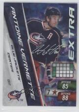 2010-11 Panini Adrenalyn XL Extra Signature #ES17 Antoine Vermette Hockey Card