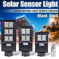 90/120W LED Solar Street Light PIR Motion Sensor Wall Outdoor Graden Lamp+Remote
