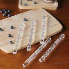 Embossing Acrylic Rolling Pin Fondant Sugar Craft Cake Baking Decorating Tool
