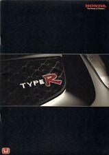 Honda Civic Type R & Accord Type R 2001-02 UK Market Sales Brochure