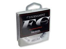 Daiwa Tournament FC-Leader fluocarbon sedales 50 M/verso. tamaños de 2,3 kg - 11,4 kg