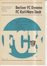 OL 83/84  FC Karl-Marx-Stadt - BFC Dynamo Berlin