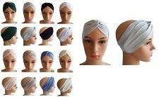 Haarband Carpraz Bandana 8 Unifarben Stirnband Kopfschmuck Neu