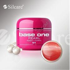 Silcare Base One Gel Uv Unghie Pearl 5 gr Vari Colori Professionale OffertissimA
