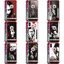THE WALKING DEAD SANG ROUGE DÉFENSE ANTI-CHOC POUR iPHONE SAMSUNG LG TÉLÉPHONES