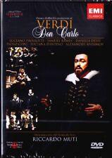 2.DVD VERDI DON CARLO Pavarotti Ramey Dessi MUTI CARLOS Anisimov Coni LA SCALA