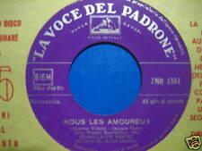 """JEAN-CLAUDE PASCAL """"Nous les amourex"""" ITALY EUROVISION"""