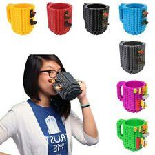 12oz/350ml Brick Mug Building Blocks Coffee Cup Block Puzzle Mug DIY Xmas Gift
