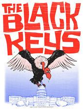 The Black Keys Washington DC 2012 Poster Signed & Numbered #/310 Rare!!!