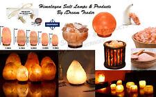 Himalayan Pink Salt Lamp Natural Rock salt lamp Salt Lamp Ioniser Different Size
