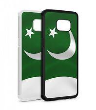 Samsung Galaxy Pakistan Fahne SILIKON Flipcase Tasche Hülle Case Cover Schutz Ha