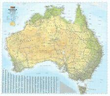 Australia Hema 1000 x 875mm Road & Terrain Laminated