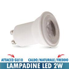 LAMPADINA FARETTO LED MINI 2W VTAC ATTACCO GU10 CALDO / NATURALE / FREDDO