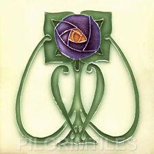 Art Nouveau Arts & Crafts Mackintosh Ceramic Tiles Fireplace Bathroom mac 5