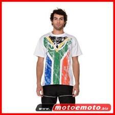 Berik T Shirt Flag Sud Africa Bandiera Sudafricana Occhini Moto Moda Fashion