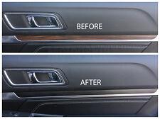 2016 2017 Ford Explorer Interior Dash Trim Blackout Vinyl Decal Overlays