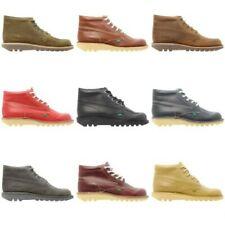 Kickers Kick Botas Altas Zapatos de cuero hombre Cordones 6.5 7 8 9 10 10.5 11