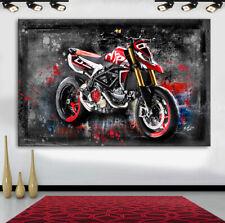 DUCATI 950 SP Motorräder & Autos Abstraktes Bilder Leinwand Wandbilder XXL 1267A