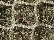 "Heavy Duty 2-1/4"" Mesh Hay Net for Round Bales"