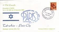 3189+ CONCORDE 1er VOL TEL AVIV -  PARIS