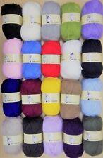 Woolyhippo Chunky Yarn Acrylic Wool Soft Nylon Baby 100g Knitting Crochet Craft