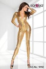 Gogo Outfit Overall 3 S/M 36-38 Leggings Lingerie Clubwear Vestito Body intero