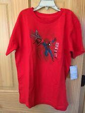 NWT Disney Store Spiderman T Shirt Tee Boy Avengers Large