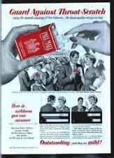 Pall Mall Cigarettes 1953 ad advertisement