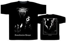 Licencia Oficial-Darkthrone-Transilvanian hambre Camiseta muerte de Metal Negro