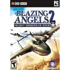 Blazing Angels 2: Secret misiones de la segunda guerra mundial (Pc DVD), muy buena PC, Windows Vista,