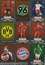 Topps Match Attax Bundesliga 09/10 2009/2010 Wappen + Star Spiele zum aussuchen