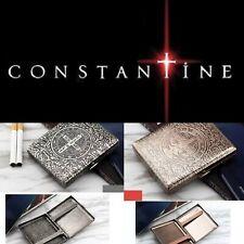 NEW CONSTANTINE CIGARETTE LIGHTER CASE BRASS VINTAGE BOX HOLDER GOTHIC LIGHTERS