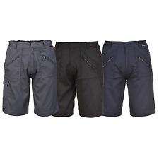 Portwest S889 para hombre de acción Pantalones cortos de varios Bolsillos Workwear-Varios Colores