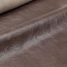 Lammleder Mocca-Schwarz 0,9 mm Dick Glatt Echt Leder Braun Leather W117