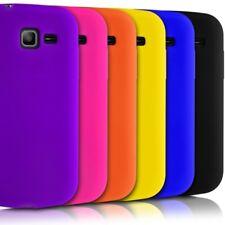 Housse Etui Coque en Silicone pour Samsung Galaxy Trend Lite + Film de Protecti