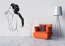 Donna Make Up Bellezza Parrucchiere Casa Casa Muro Decalcomania Sticker W17