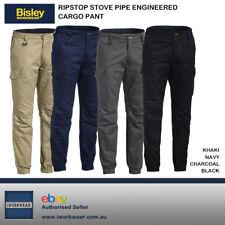 *NEW* Bisley RIPSTOP STOVE PIPE ENGINEERED CARGO WORK PANT BPC6476  SLIM LEG
