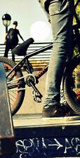 SINGLE- Cornhole Board- Bag Toss wrap - 3M VINYL DECAL- SPORTS- BMX BIKE BIKING