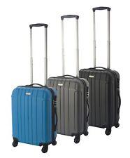 Koffer Bordtrolley Handgepäck 4-Rollen Hartschale Trolley Reisekoffer