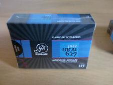 GONZALEZ JAZZ LOCAL 627 ALTO SAX REEDS - TOP QUALITY ONLY £19.99 BOX OF 10