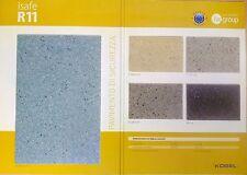 Pavimento in pvc isafe antiscivolo R11 rotolo 2x20mt ideale per ambienti umidi