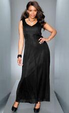 """Abendkleid schwarz mit Perlen Gr. 44 - 54 """"m.i.m."""" NEU"""