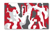 Red Camouflage UK Presa Adesivi Bambini Camera da letto salotto arredamento nursery