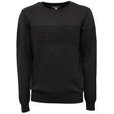 9360V maglione uomo INMYHOOD cotton dark grey delave' sweater man