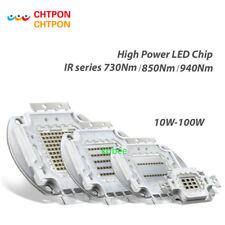 High Power LED IR Matrix 10W 20W 30W 50W 100W 730Nm 850Nm 940Nm Light Lamp Diode